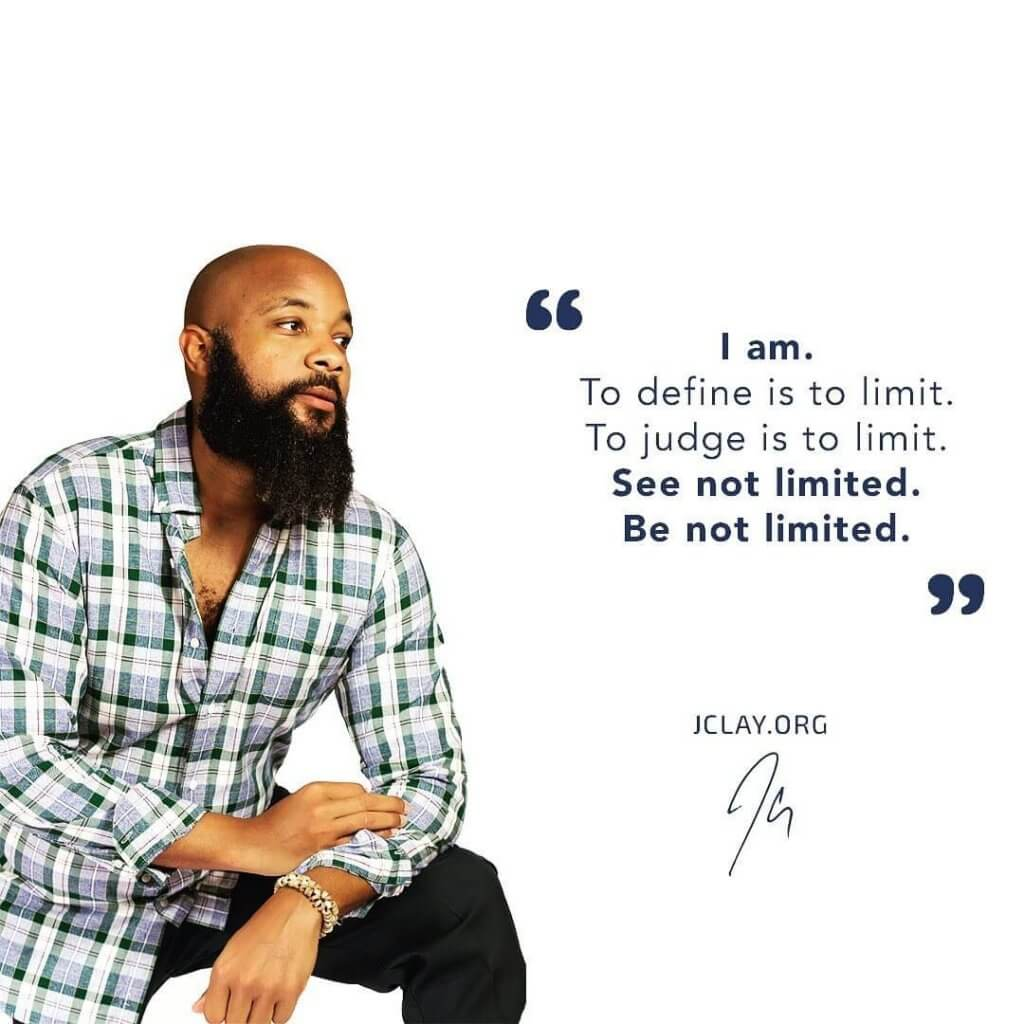 """""""I am. To define is to limit. To judge is to limit. See not limited. Be not limited."""""""