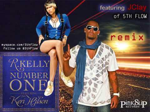 R Kelly and Keri Hilson