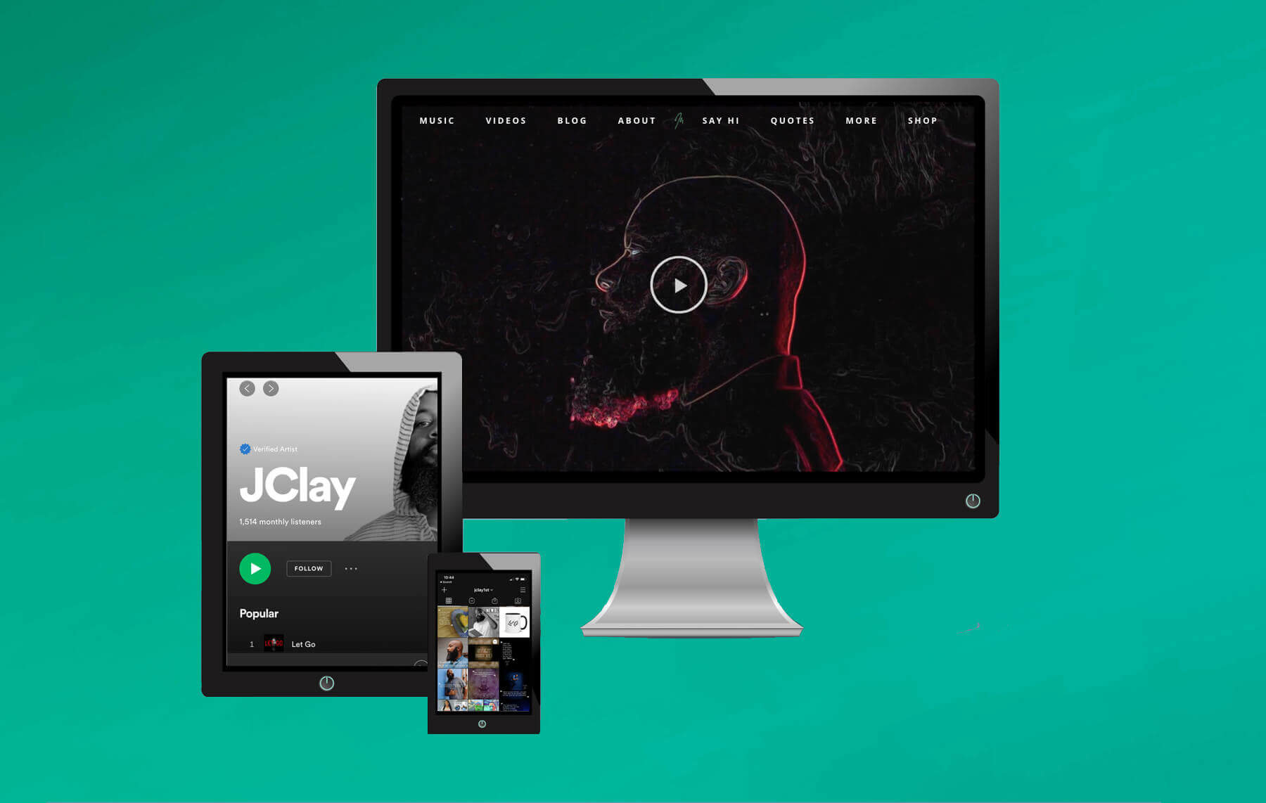 jclay on computer devices