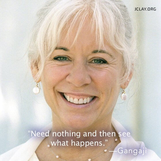 gangaji quote