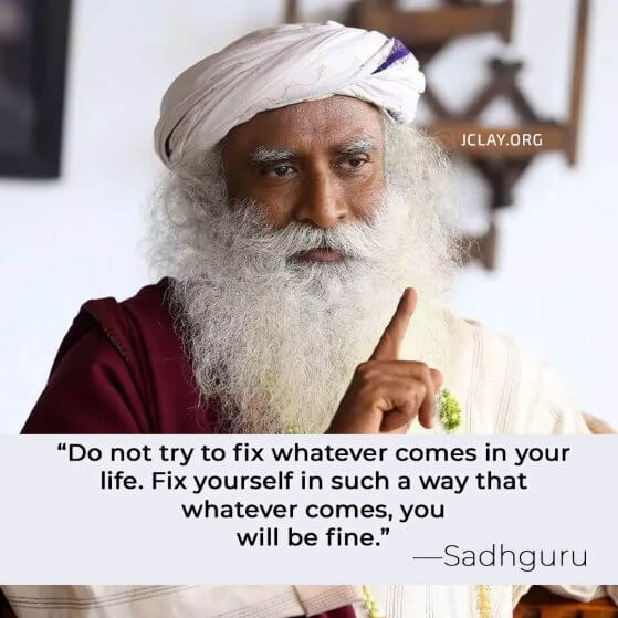 sadhguru quote on how to raise your vibration