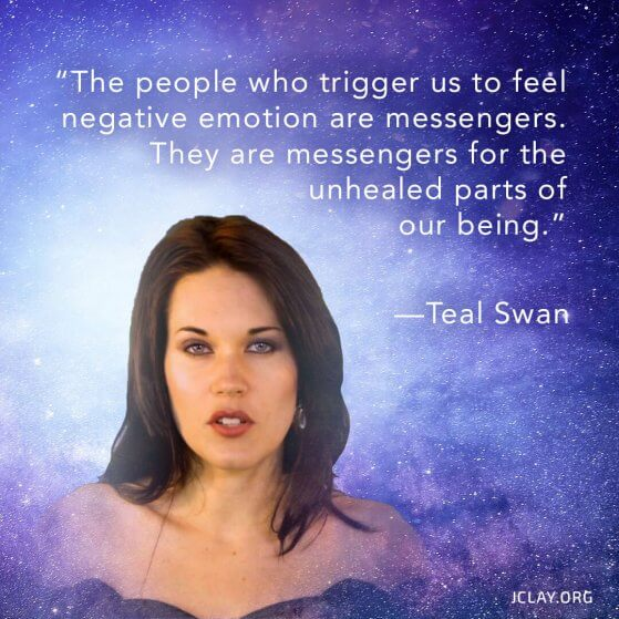 teal swan quote on raising your vibration