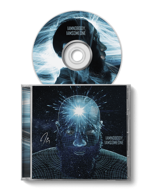 IAMNOBODY, IAMSOMEONE jewel case and disc by JClay