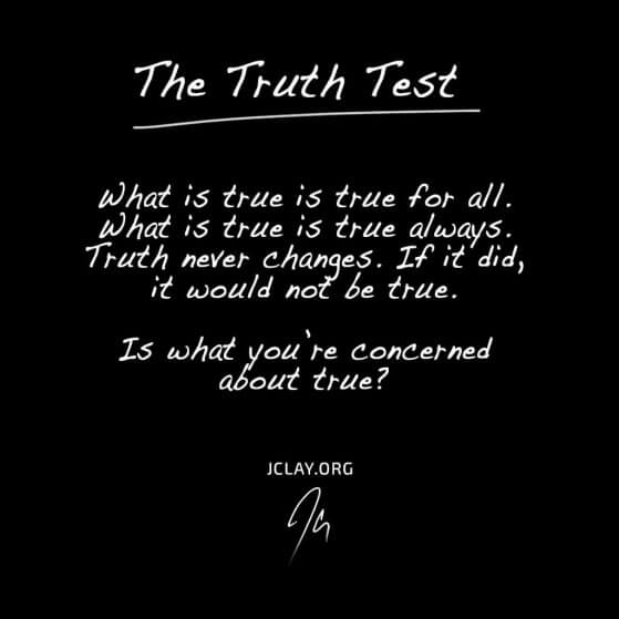 the truth test by jclay