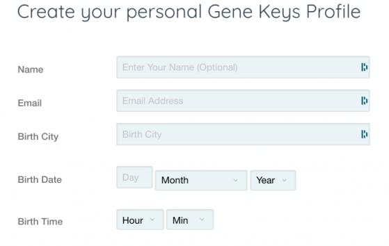 your Gene Keys profile