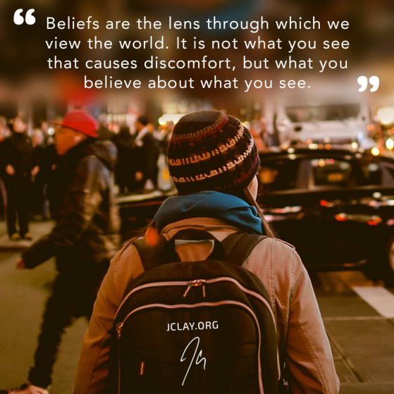 inspirational quote by jclay about beliefs and perception