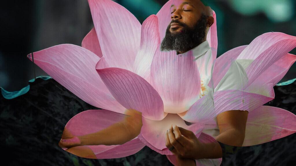 JClay lotus flower meditation