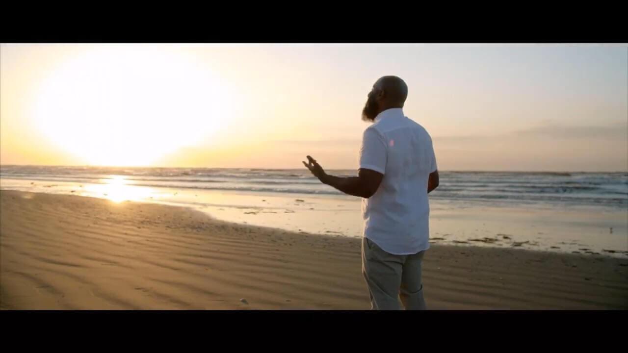 JClay on the beach sunrise