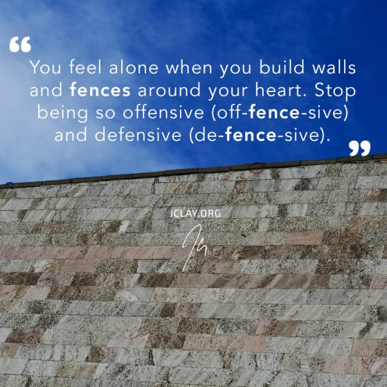 inspirational quote by jclay with a trump's wall